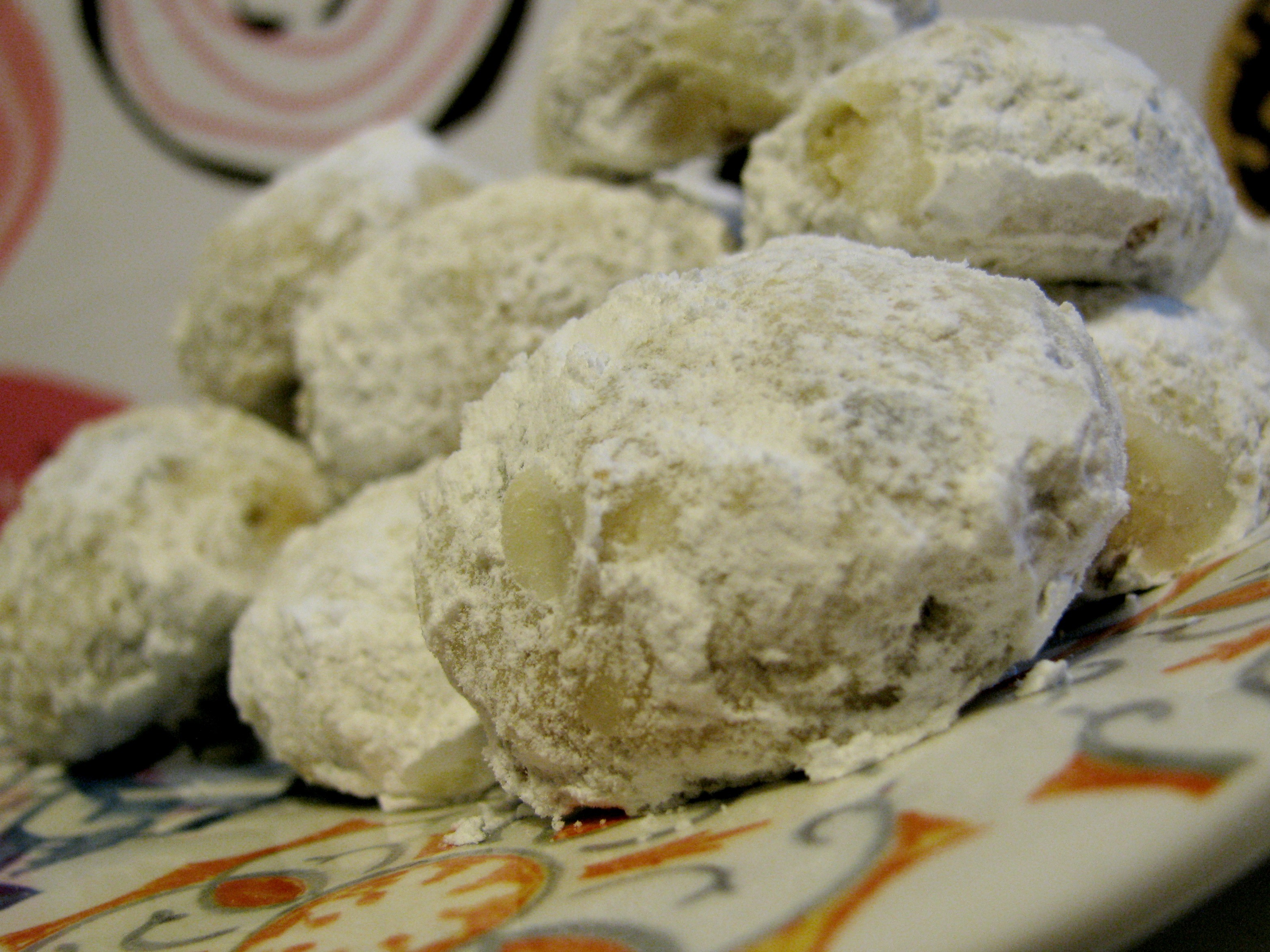 Danish Wedding Cookies.Danish Wedding Cookies